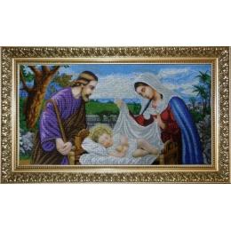 Святая Семья - БС Солес - вышивка бисером икон