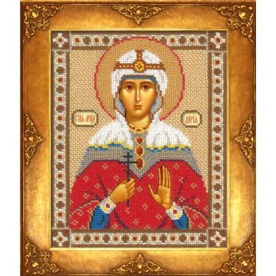Икона Св. Дарья - Русская искусница - вышивка бисером икон