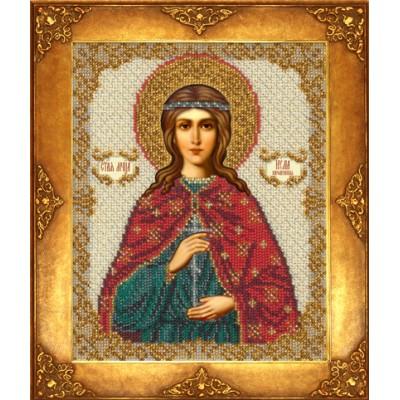 Икона Св. Юлия - Русская искусница - вышивка бисером икон