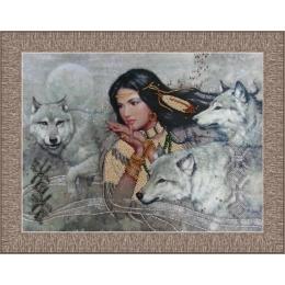 Танец с волками  - Butterfly - набор для вышивки бисером
