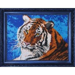 Набор для вышивки бисером - Butterfly - №553 Тигр