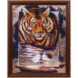Набор для вышивки бисером - Магия канвы - Б-067 Тигр
