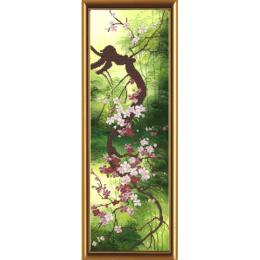 Набор для вышивки бисером - Нова Слобода - НД6054 Цветущая сакура