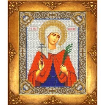 Икона Св. Валентина - Русская искусница - вышивка бисером икон