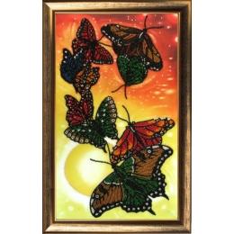 Набор для вышивки бисером - Butterfly - Вальс бабочек №106