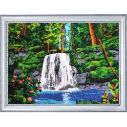 Набор для вышивки бисером - Butterfly - Водопад №318