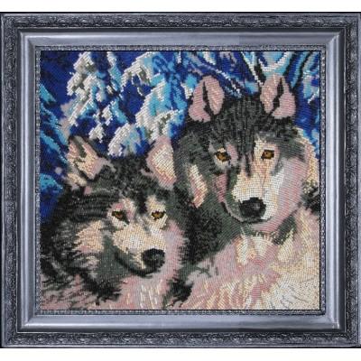 Волки - Butterfly - набор вышивки бисером