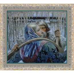 Встреча - Картины бисером - набор вышивки бисером