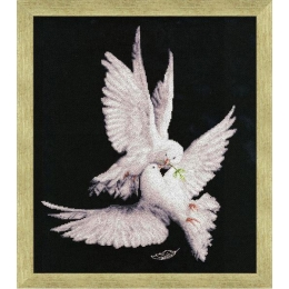 Набор для вышивки крестом - Золотое руно - З-018 Моя голубка
