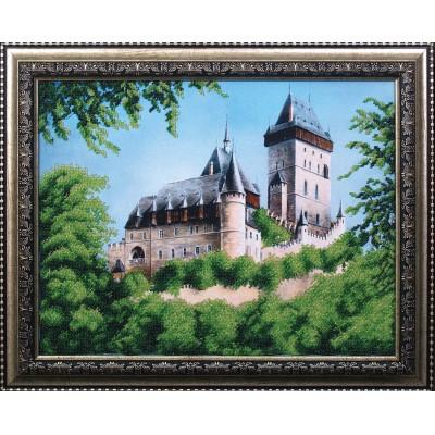 Замок - Магия канвы - набор вышивки бисером