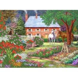 В саду - Маричка ТМ - схема вышивки бисером