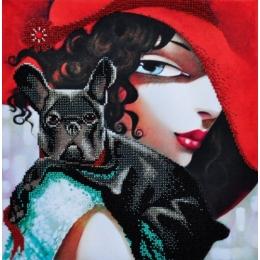 В стиле RED-3 - Картины бисером - набор для вышивки бисером