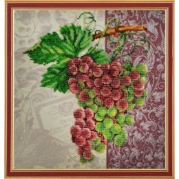 Винтажный виноград - Картины бисером - набор для вышивки бисером