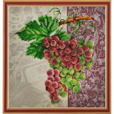 Набор для вышивки бисером - Картины бисером - Винтажный виноград